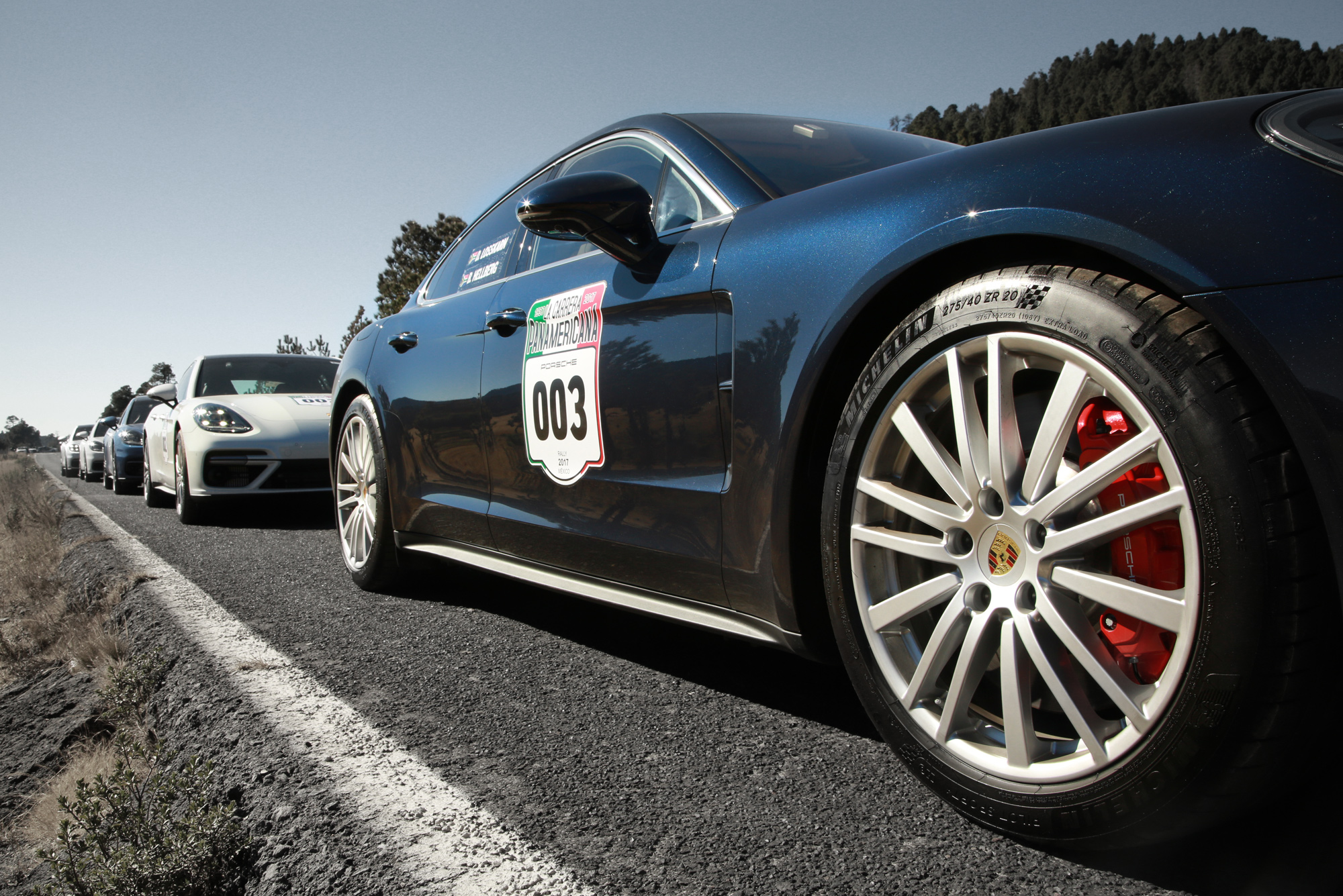 <p>To celebrate the release of the second generation car, Porsche invited a small group of journalists to the Mexican countryside, to sample a section of the Panamericana in a Panamera.</p>