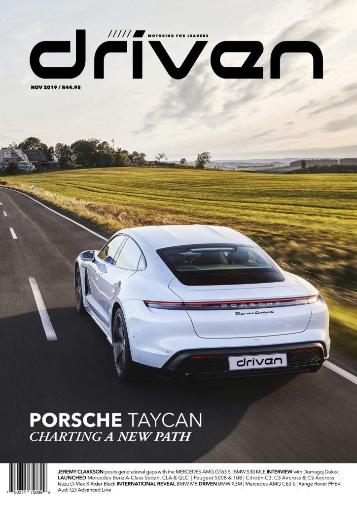 Driven November cover