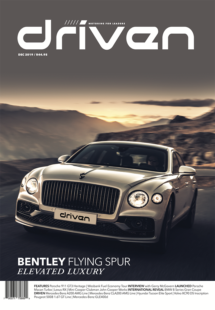 Driven magazine December